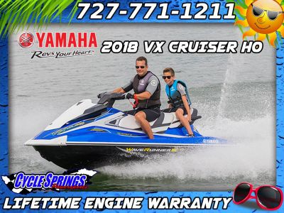 2018 Yamaha VX Cruiser HO PWC 3 Seater Clearwater, FL
