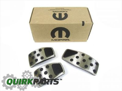 Purchase 2014-2016 JEEP RENEGADE CHROME PEDAL PAD COVERS SET NEW MOPAR GENUINE OEM motorcycle in Braintree, Massachusetts, United States, for US $105.54