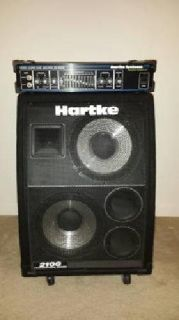 Hartke Bass Amp and Cabinet