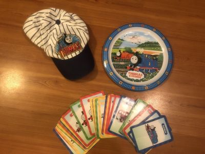 Thomas the Train Hat-plate and cards