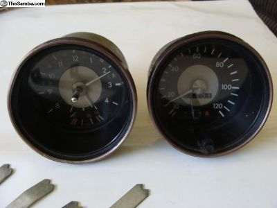 Karmann Ghia Gauges