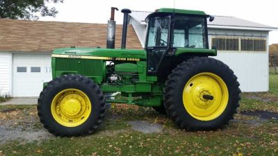 1984 John Deere 4650 Tractor for sale in Richfield Springs, NY.