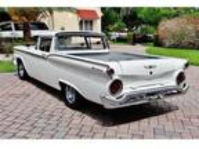 1959 Ford Ranchero 3-Speed Manual