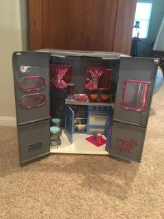 Doll Travel Trailer with tons of Accessories
