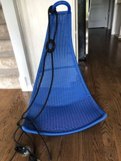 IKEA Blue Hanging Chair
