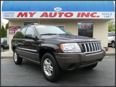 2004 Jeep Grand Cherokee Special Edition (Deep Lava Red Metallic)