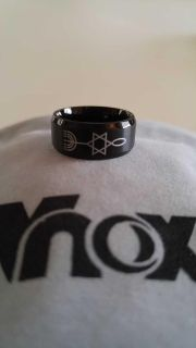 Messianic stainless steel ring