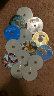 Kids movies no cases $1 for all