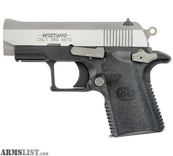 For Sale: Colt Mustang Lite 380ACP Pistol