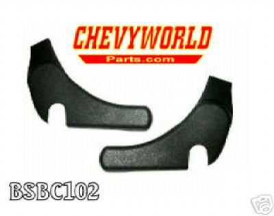 Sell 1971 - 1981 CAMARO BUCKET SEAT HINGE COVERS motorcycle in Bryant, Alabama, US, for US $54.95