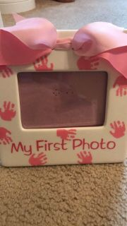 My First Photo Baby Girl Picture Frame