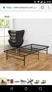 Twin XL metal bed frame