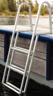 Purchase Dock Edge 2053F DOCK LADDER 3 STEP STAND OFF motorcycle in Stuart, Florida, US, for US $155.60