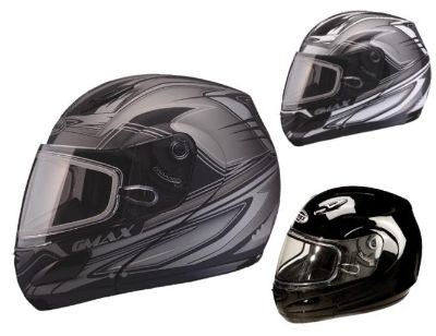 Buy 2014 GMax GM44S Modular Snowmobile Snow Helmet Electric Shield Black Blk/Silver motorcycle in Lee's Summit, Missouri, US, for US $189.98