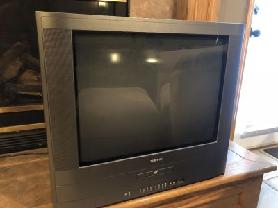 Free! 24 Toshiba television with DVD player