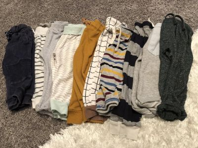 10 pair of cotton hipster pants