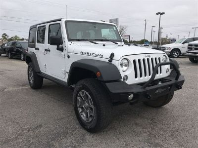 2015 Jeep Wrangler RUBICON 4X4 (Bright White)