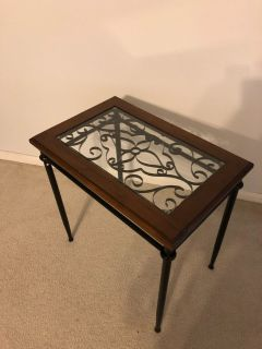 end or lamp table
