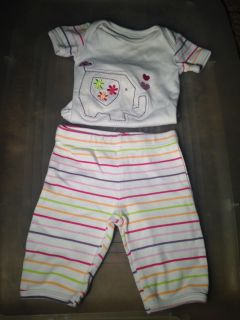 Outfit size newborn