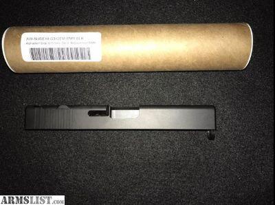 For Sale/Trade: Milled Glock 19 slide
