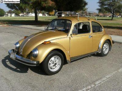 1976 VW Standard Beetle Cal Bug