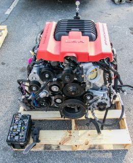 15 Camaro ZL1 LSA Supercharged Engine w/ 6-Speed Tranny
