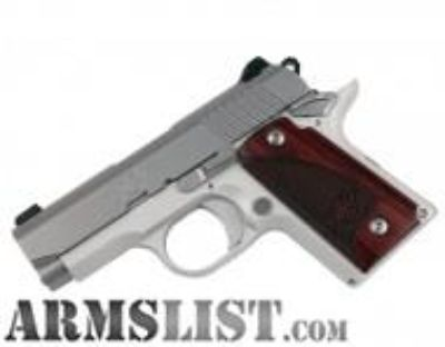 For Sale: Kimber Micro 9 Stainless Rosewood 3300158