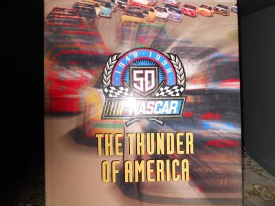Thunder of America NASCAR RACING BOOK pictures reading material detail