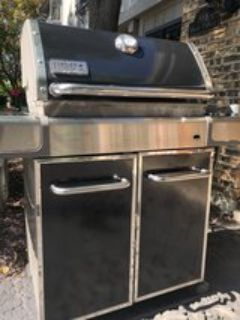 : ) Weber Genesis Gas Grill. All Works