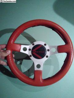 "13"" vintage DINO italian Steering Wheel w/hub"