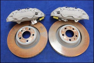Buy 2015 2016 FORD MUSTANG GT 5.0 BREMBO 14 FRONT BRAKE KIT BRAKES 14 INCH 4 PISTON motorcycle in Lyons, Georgia, United States, for US $449.99