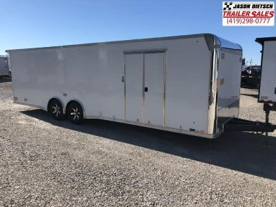 2019 United Trailer GEN 4- 8.5x28 Enclosed Race Trailer....S