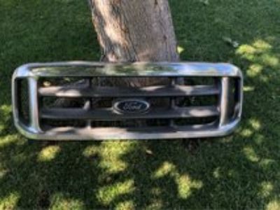 grill, grill guard, rear bumper