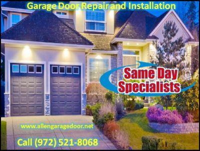 Quality Work in Garage Door Spring Repair company   Allen, TX