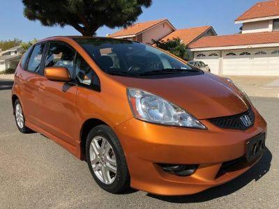 2009 Honda Fit Sport (Orange)