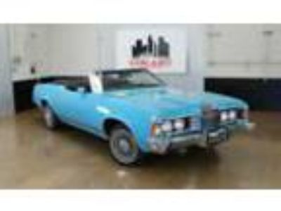 1973 Mercury Cougar Convertible -- 1973 Mercury Cougar Convertible Well