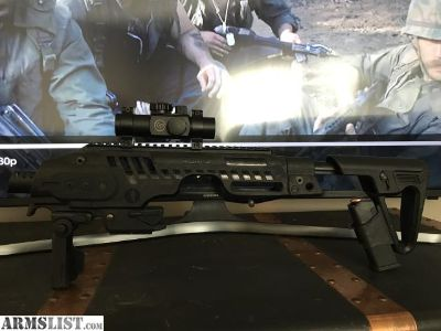 For Sale: CAA Roni G2 Glock Carbine Conversion