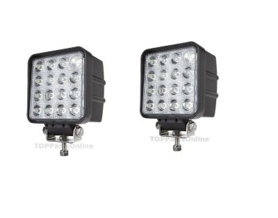 Sell LED Spot light Off road lighting 48w Square Driving Tractor Light Forklift Truck motorcycle in Garden Grove, California, US, for US $114.92