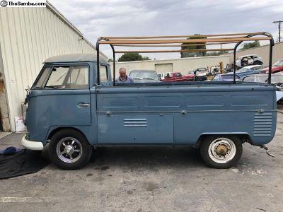 VW TYPE 2 BUS 1959 TO 1961  KEYED ALIKE DOOR HANDLE IGNITION SET