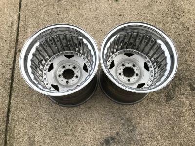 Centerline 15x15 Convo Pro Rear Wheels VGC