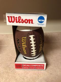 Brand new college size football