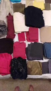 Over seven pounds of scrap fabric great for any kind of project