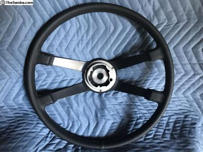 400mm orig leather wrap 911 steering wheel