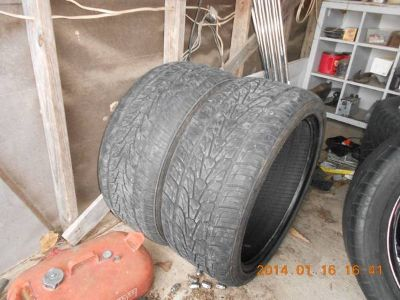 22 TIRES, NICE CONDITION