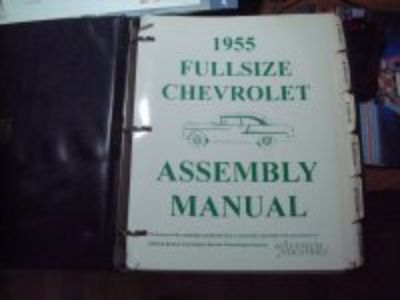 1955 Full Size Assembly Manual