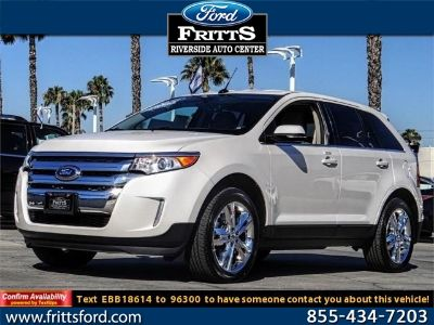 2014 Ford Edge Limited (WHITE PLATINUM METALLIC TRI-COAT)