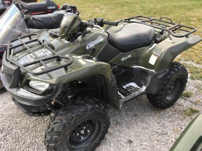 2013 Suzuki KingQuad 500AXi Power Steering ATV Utility ATVs Hillman, MI