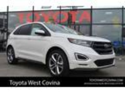 Used 2015 Ford Edge White Platinum Metallic Tri-Coat, 40.1K miles
