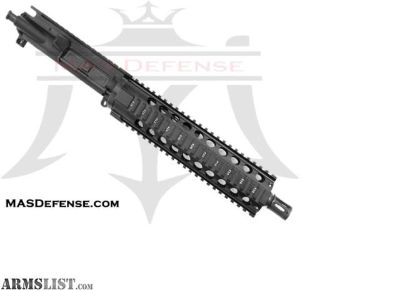 "For Sale: MAS DEFENSE 10.5"" 300 BLACKOUT BARRELED UPPER - VECTOR 9.25"" SERIES - BLEM AR 15, AR15, AR-15, 300 BLACKOUT, AAC,300 BLK"