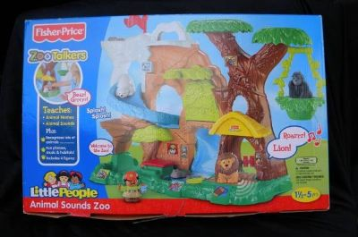 Fisher-Price Little People Zoo Talkers